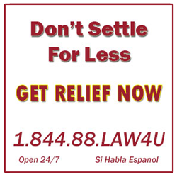Don't Settle For Less.  Call Hall Taylor Law Partners Now